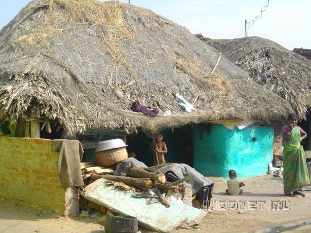 Пури, рыбацкая деревня