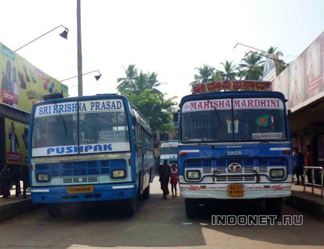 городские автобусы в Индии