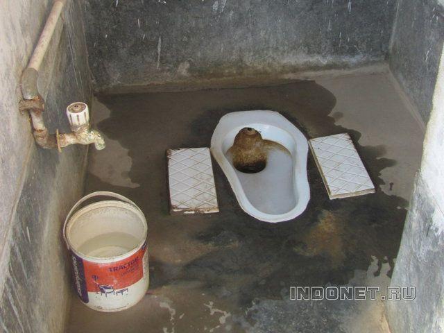 Первый раз в Индии. Туалеты