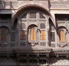 Резные окна Мехрангарха