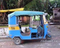 Рикша в Дехрадуне