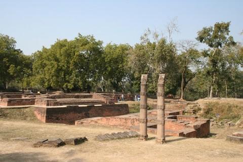 Монастырь Дхармачакра Джини Вихар, начало XII в.