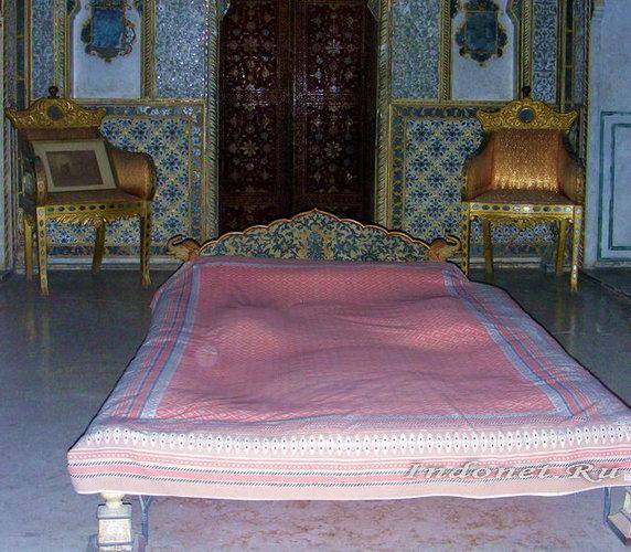 Спальня во дворце Биканера
