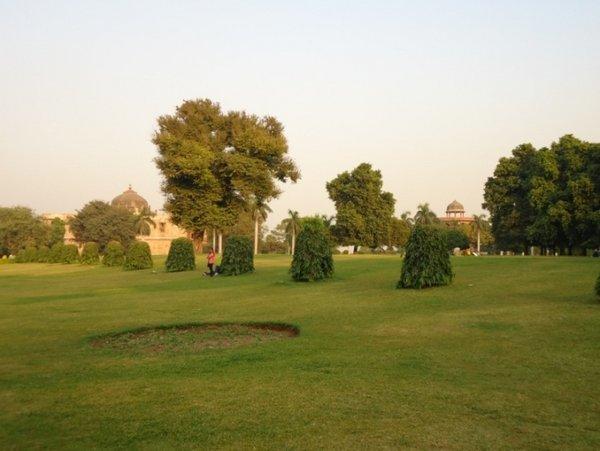 Внутренний парк Пурана Кила