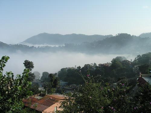 Алмора, утро туманное