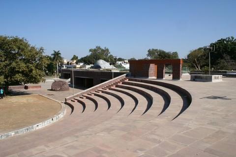 Бхопал. Центр искусств Бхарат Бхаван