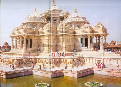 Акшардхам, главный храм