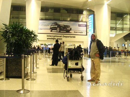 Аэропорт Дели им.Индиры Ганди - зал международные вылетов