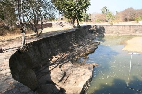 Санчи. Водохранилище