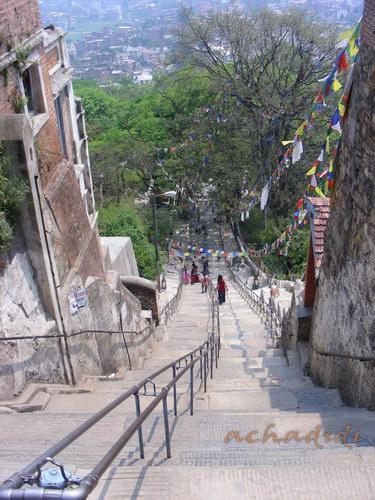 Лестница к Сваямбунатху