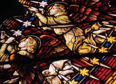 Медак. Ангелы возвещают о рождении Иисуса.