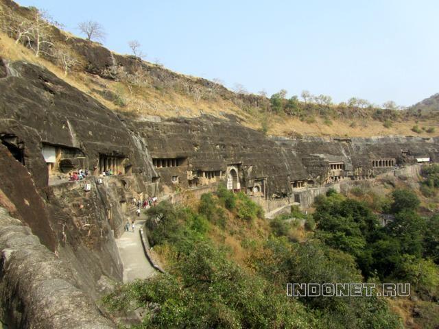 Аджанта, фото храмов