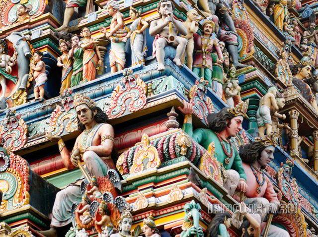 Ченнаи, Капалешварар мандир, гопурам храма