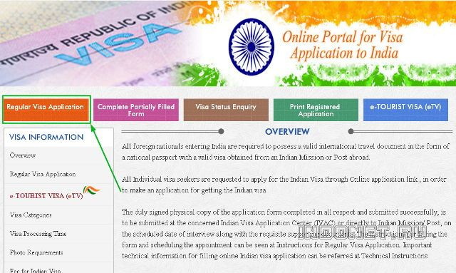 Инструкция по заполнению анкеты на визу Индии на русском