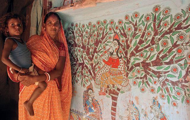 Мадхубани. Древнее наследие