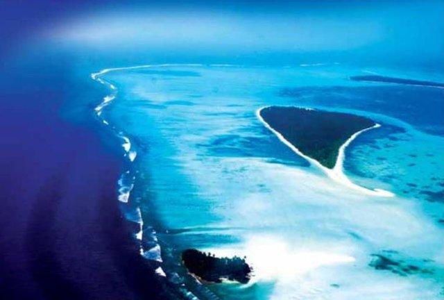 Индия, острова Лакшадвип, остров Бангарам
