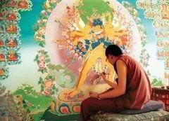 Тханка — это буддийские картины