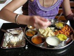Индийская еда. Шрингери.