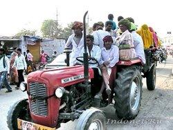 Трактор в Пушкаре
