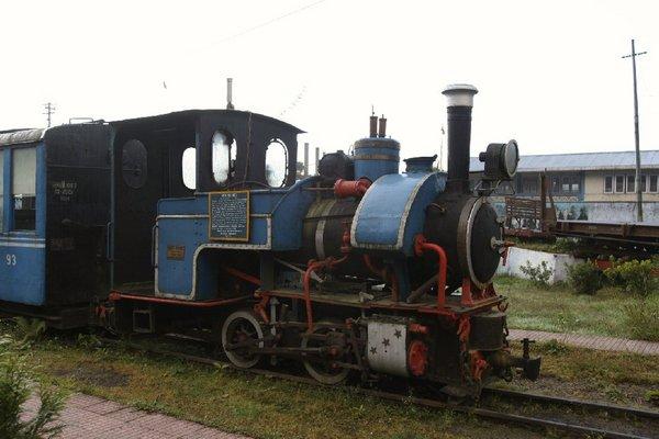 Поезд Дарджилингской Гималайской железной дороги, фото Митрия