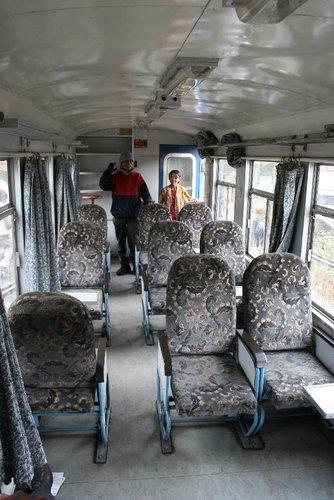 Вагон поезда Гималайской дороги