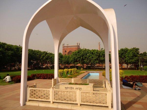 Могила Абдул Калам Азада в Дели, Чандни Чоук