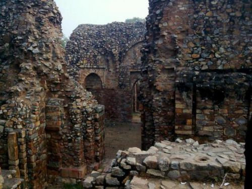 руины Балбан Томб