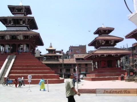 Дворцовая площадь Катманду