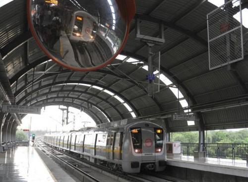 Фотографировать в делийском метро нельзя, поэтому фото чужое, thehindu.com