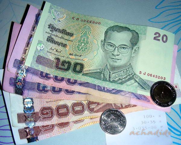 Тайские баты курс к доллару