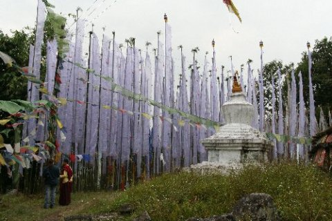 Ташидинг. Молитвенные флаги