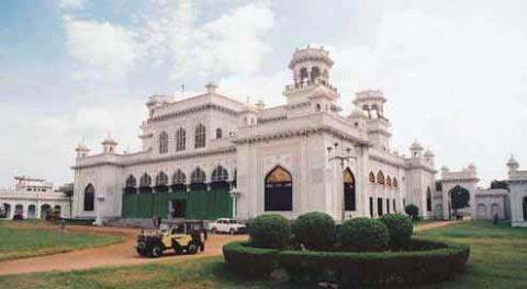 Дворец Низама известный как Кхилват или дворец Чоумохалла.